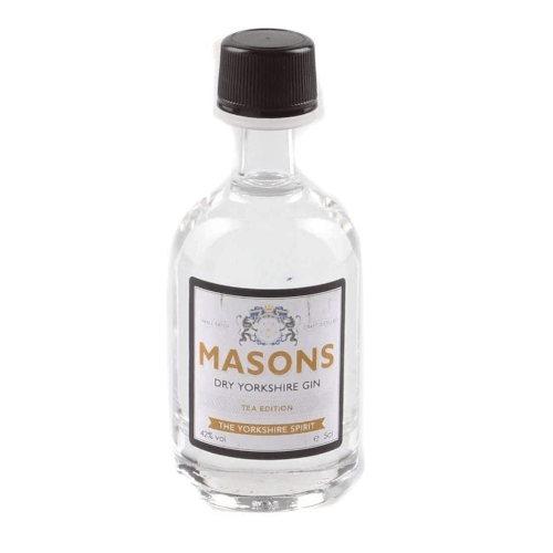 Masons Dry Yorkshire Gin Miniature (Tea Edition) - 5cl