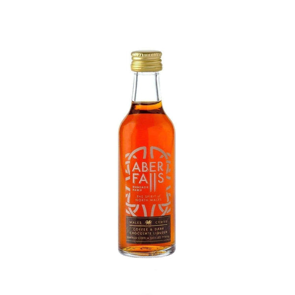 Just Miniatures:Aber Falls Coffee & Dark Chocolate Liqueur Miniature - 5cl,Miniature Drinks