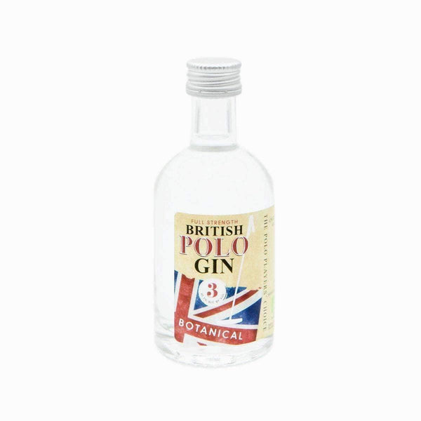 Just Miniatures:British Polo Gin Miniature - 5cl,Miniature Drinks