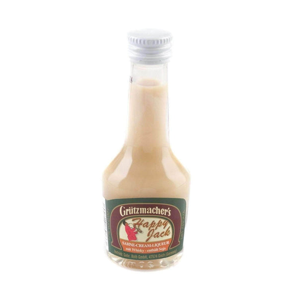 Just Miniatures:Grutzmacher's Happy Jack Whisky Cream Liqueur Miniature - 2cl,Offers