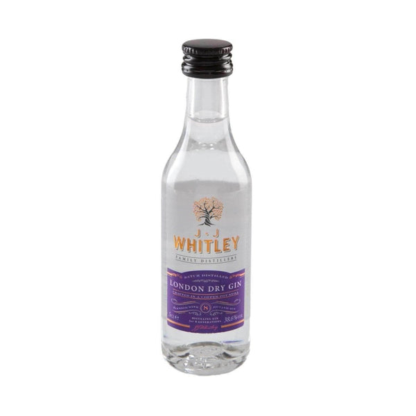 Just Miniatures:JJ Whitley London Dry Gin Miniature - 5cl,Miniature Drinks