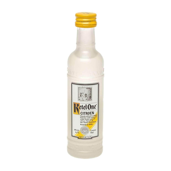 Just Miniatures:Ketel One Citroen Vodka Miniature - 5cl,Miniature Drinks