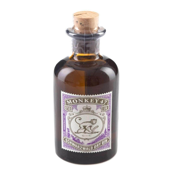 Just Miniatures:Monkey 47 Schwarzwald Dry Gin Miniature - 5cl,Miniature Drinks