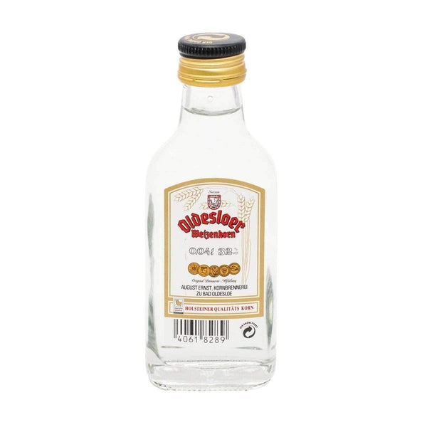 Just Miniatures:Oldesloer Corn Liqueur Miniature - 4cl,Miniature Drinks