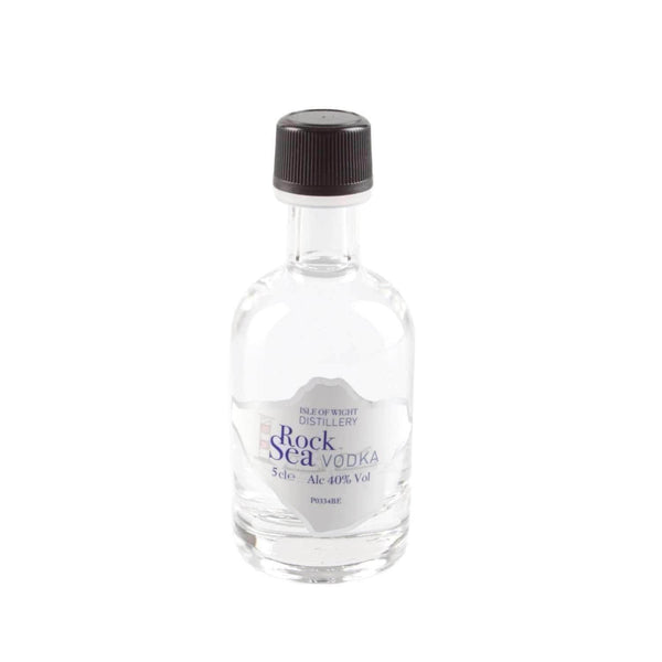 Just Miniatures:Wight Rock Sea Vodka Miniature - 5cl,Miniature Drinks