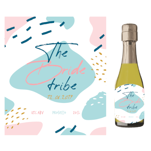 The Bride Tribe (Prosecco Wedding Favour 5cl)