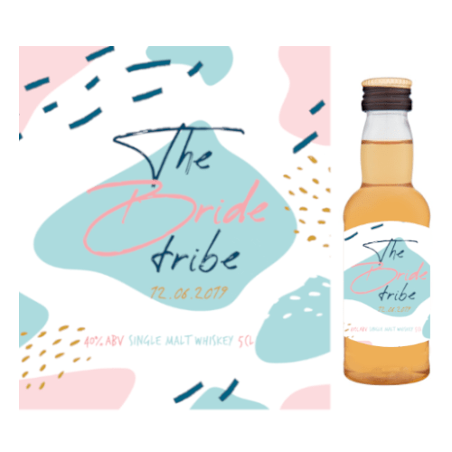 The Bride Tribe (Single Malt Whiskey Wedding Favour 5cl)