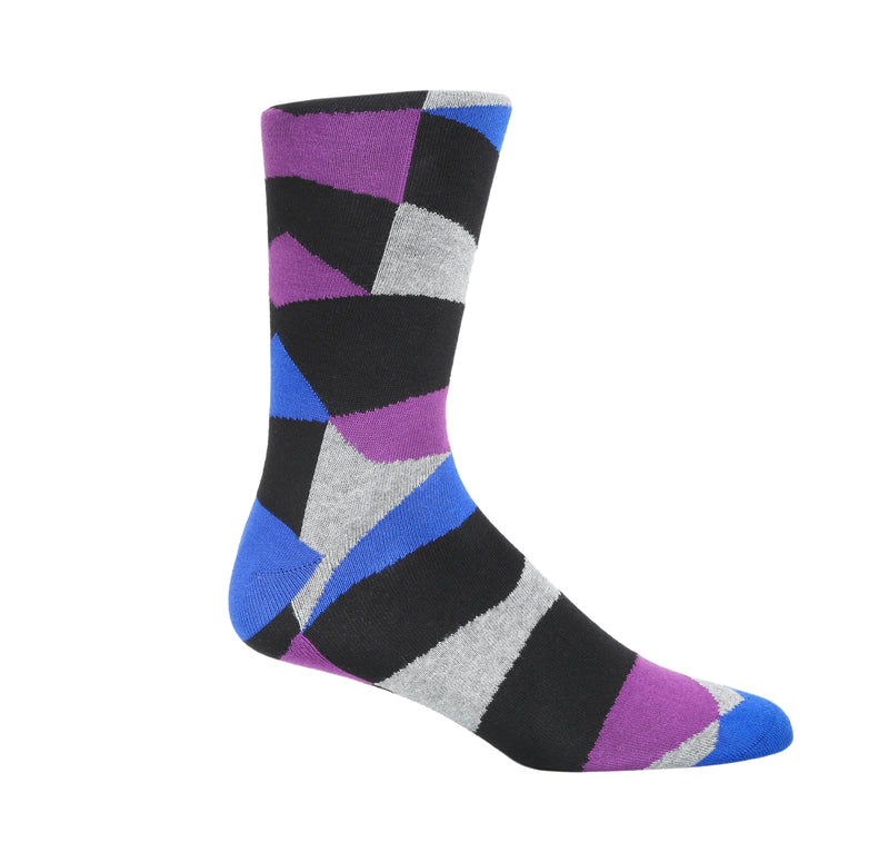 Tre Indigo Dress Socks
