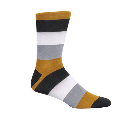 Golden Ankles Dress Socks