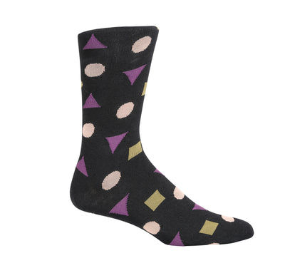 Acute Triangle Dress Socks