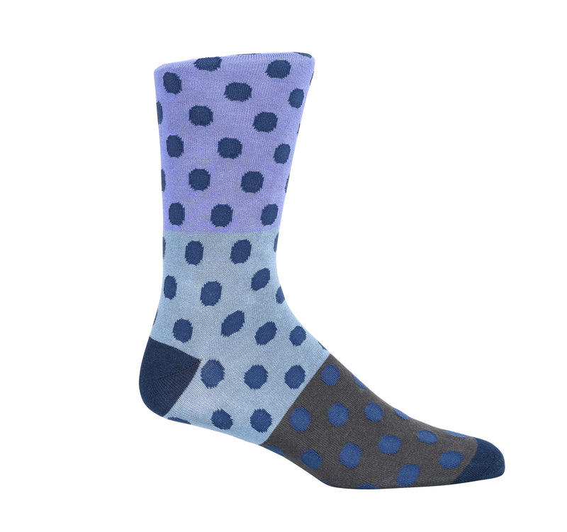 Blue Tint Dress Socks