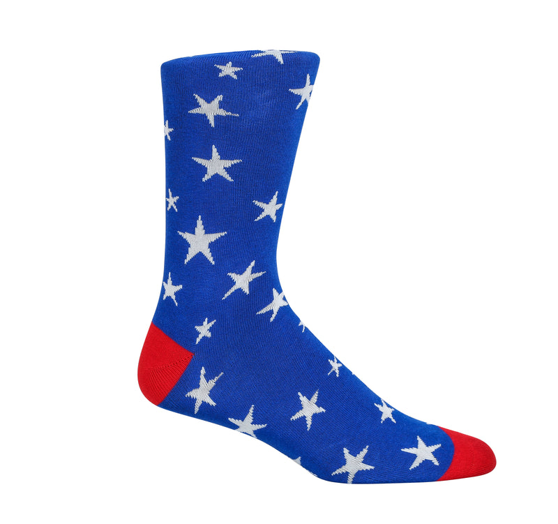 July 4th Dress Socks