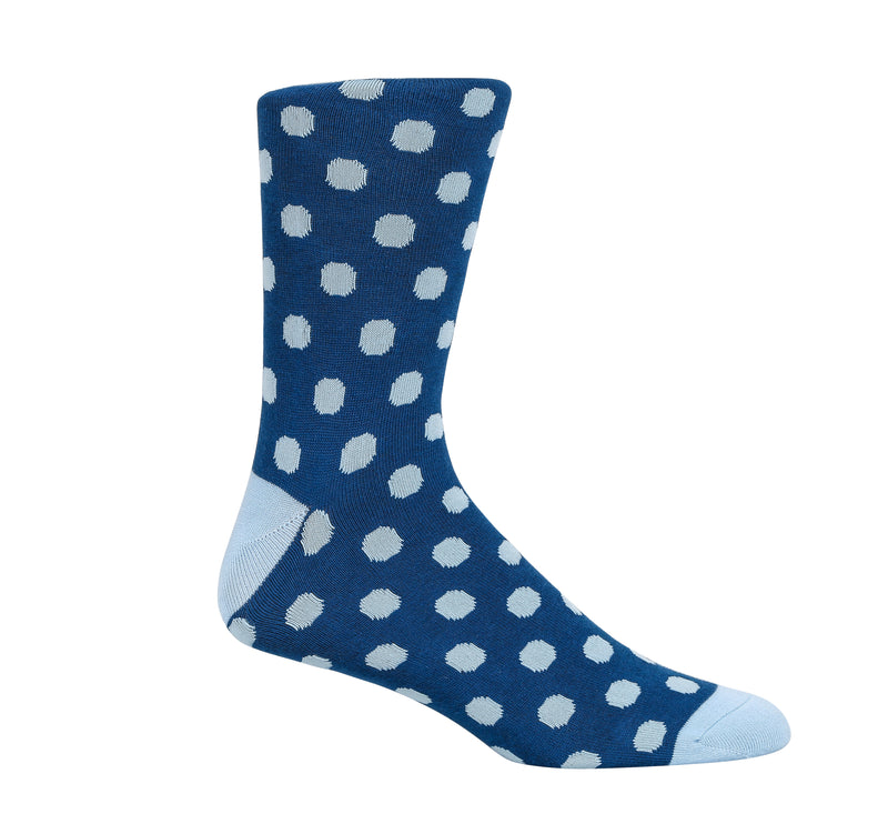 Blue Pacifica Dress Socks