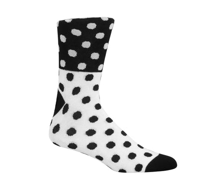 Half Moon Cookie Dress Socks