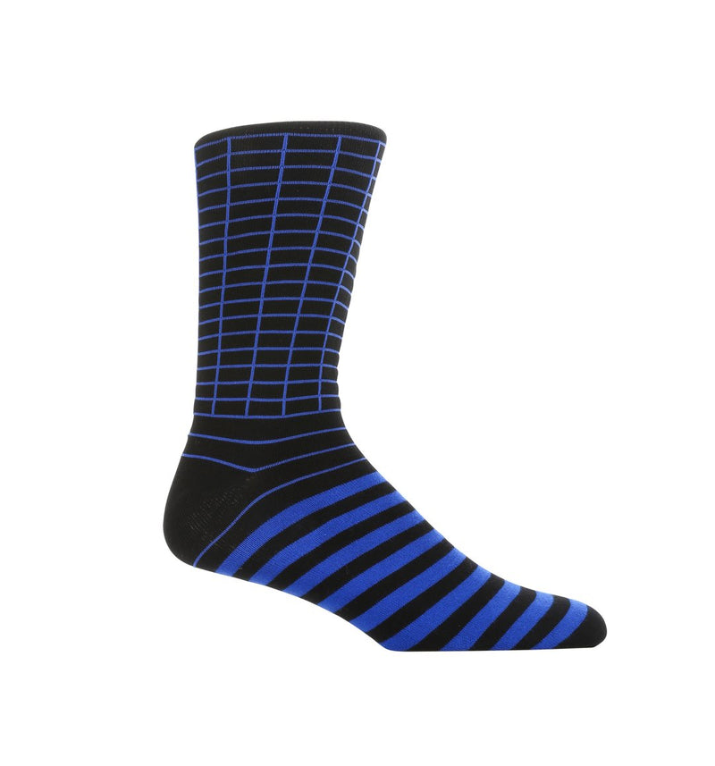 Blue Wave Dress Socks