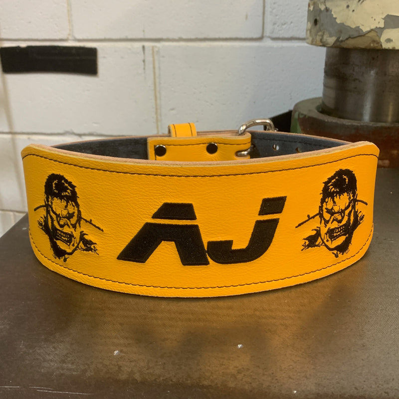 CrossFit PYB Weightlifting Belt - Hand Made in UK