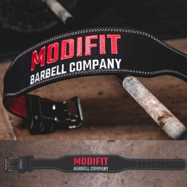 ModiFit Weightlifting Belt Black Olympic Weightlifting Style