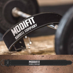 ModiFit Powerlifting Belt 10mm Quick Release Black