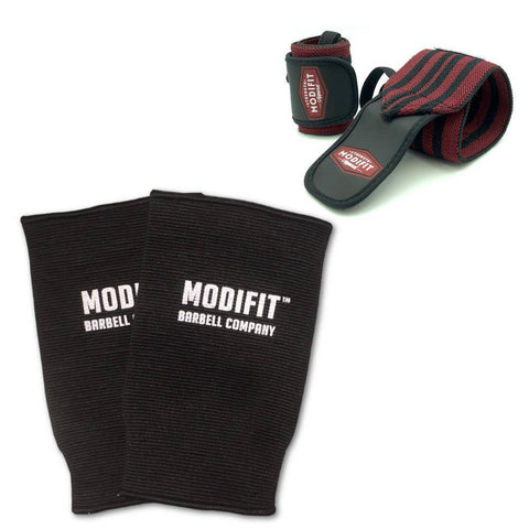 ModiFit Knee Sleeves Black Double Ply (Pair)