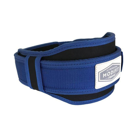 ModiFit Velcro Weightlifting Belt Blue