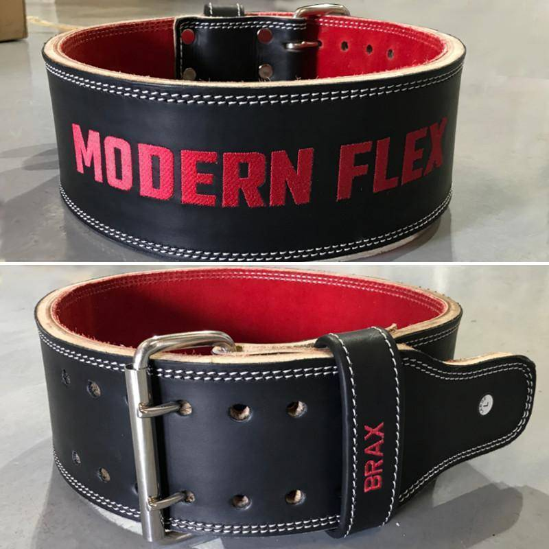 "Custom 4"" Double Prong Powerlifting Belt - Design Your Own Belt"