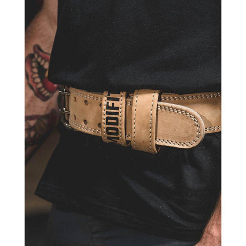 Image of ModiFit Weight Lifting Belt Elite Nubuck Leather