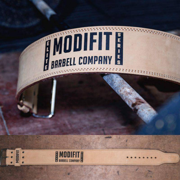 ModiFit Powerlifting Belt Elite 10mm Single Prong