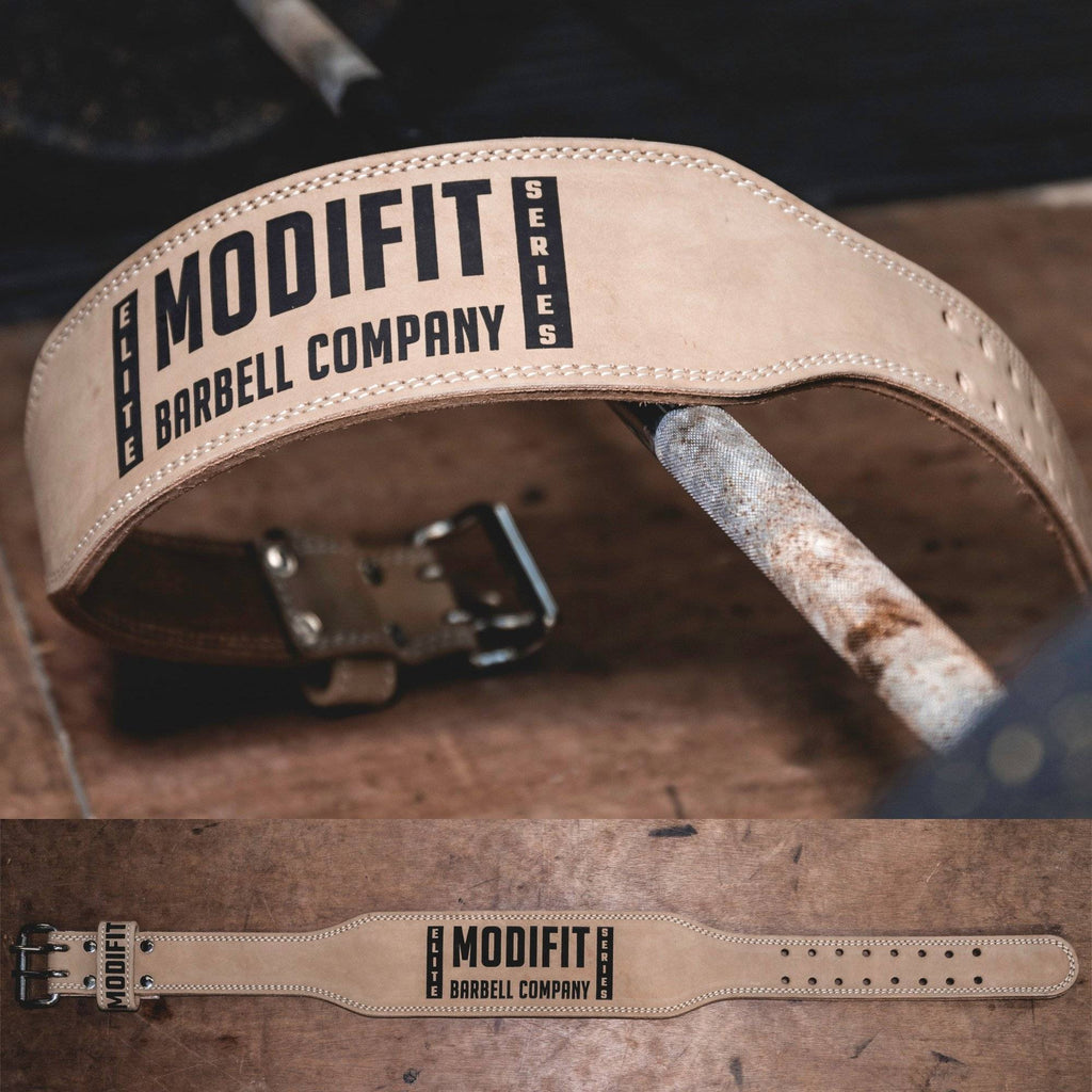ModiFit Weight Lifting Belt Elite Nubuck Leather