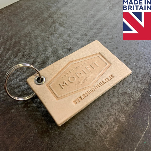 Leather Keyring (Customisable)