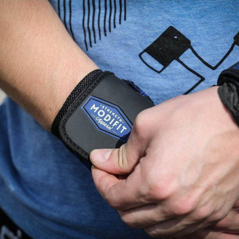 Image of ModiFit Wrist Straps Black and Blue