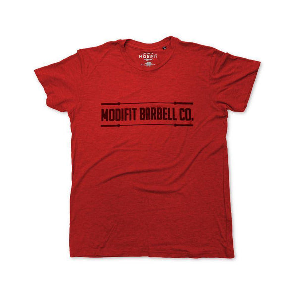 Men's ModiFit Red Barbell T-Shirt