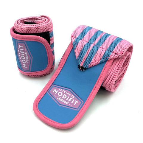 Image of ModiFit Wrist Straps Pink and Baby Blue
