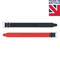 "Custom 4"" Single Prong Powerlifting Belt With No Design - Plain Custom Belt - Hand Made in UK"