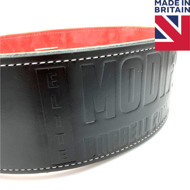 ModiFit Elite Stealth Lever Powerlifting Belt - Hand Made in UK