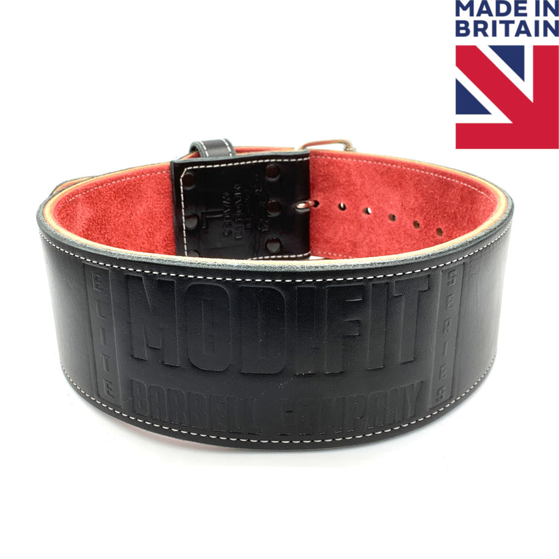 ModiFit Elite Stealth 10mm Single Prong Powerlifting Belt - Hand Made in UK