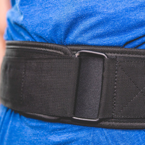 ModiFit Velcro Weightlifting Belt Black