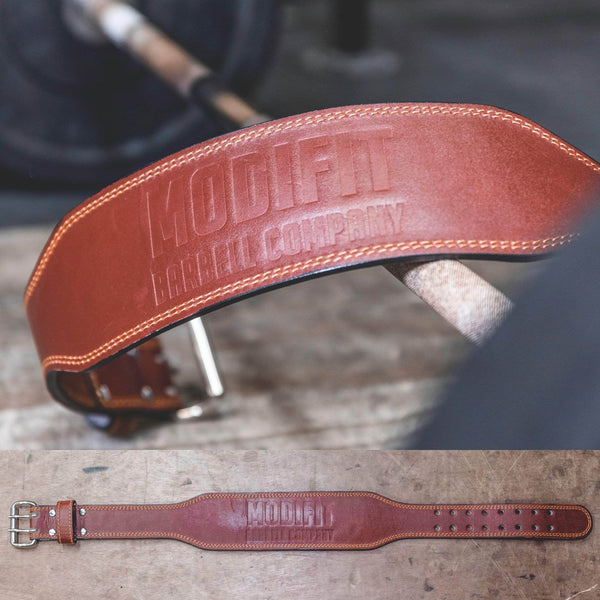 ModiFit Leather Weightlifting Belt Classic Edition