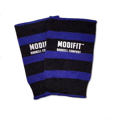 Discontinued: ModiFit Knee Sleeves Single Ply Black & Blue (Pair) (Small & Medium)
