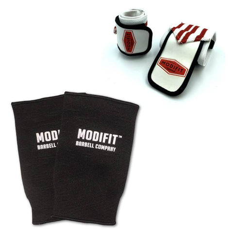 ModiFit Knee Sleeves Single Ply Black (Pair)