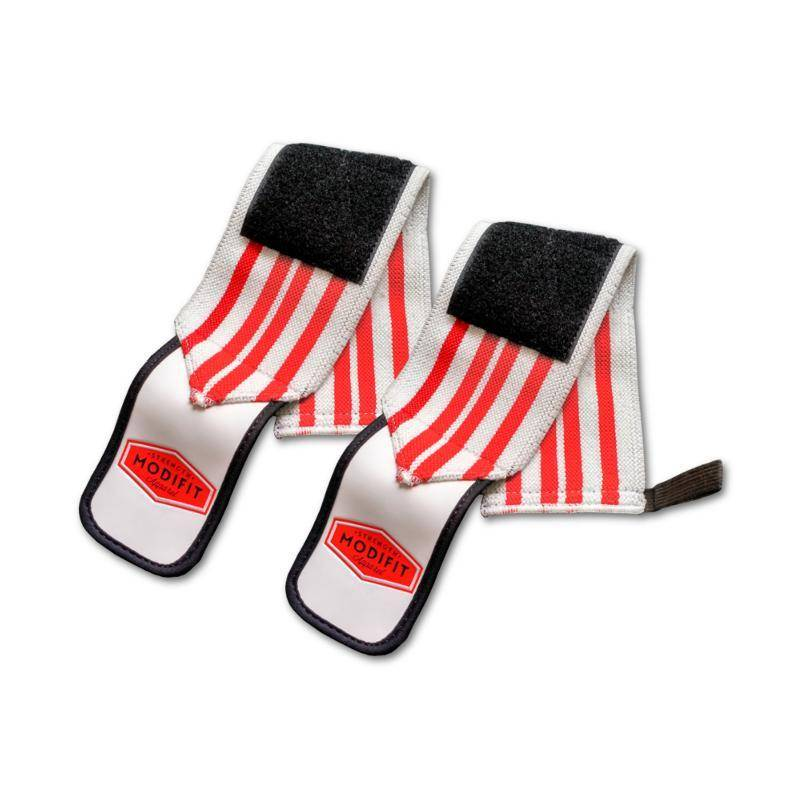 ModiFit Wrist Straps White and Red