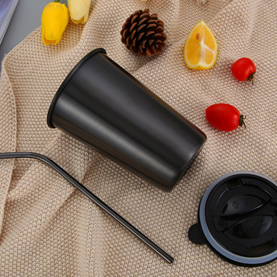 REUSABLE CUP & Straw Set