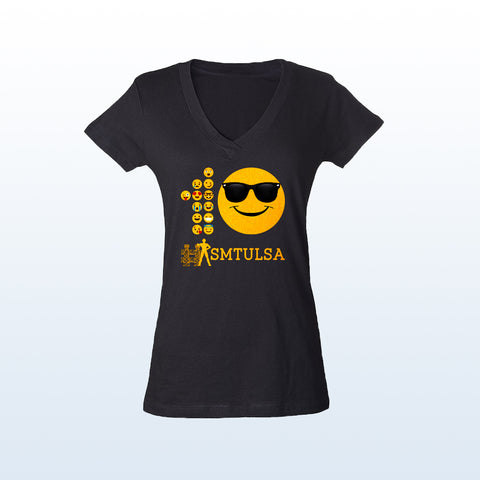 10th Anniversary SMTULSA T-Shirt Women's V-neck