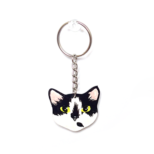 Custom Cat Keychain