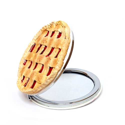 Cherry Pie Compact Mirror