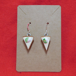 Mini Key Lime Pie Earrings