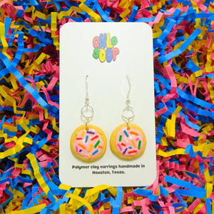 Frosted Sugar Cookie Earrings