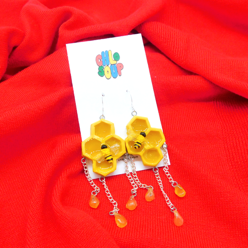 Dripping in Honey Earrings