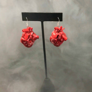Human Heart Earrings