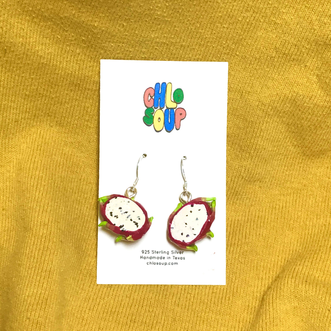 Dragon Fruit Earrings