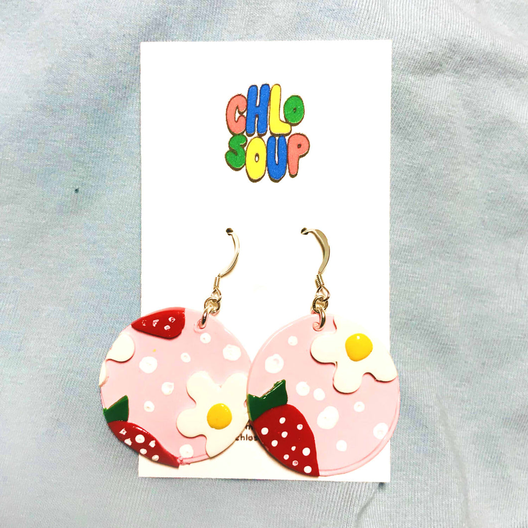 Strawberry Dream Earrings